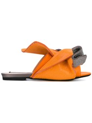 N 21 No21 Knotted Sandals Women Calf Leather Leather Plastic Rubber 39 Grey