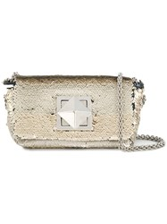 Sonia Rykiel Copain Shoulder Bag Metallic
