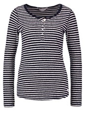 Scotch And Soda Long Sleeved Top Black Grey