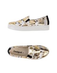 Desigual Low Tops And Trainers Platinum