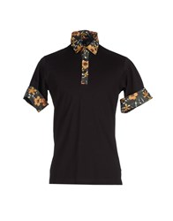 Y 3 Topwear Polo Shirts Men Black