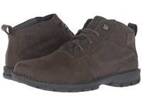 Caterpillar Elston Waterproof Dark Gull Grey Men's Lace Up Boots Gray