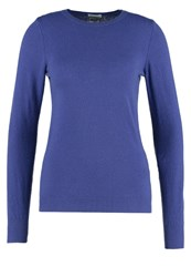 United Colors Of Benetton Slim Fit Jumper Violet Blue