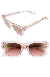 Women's Bobbi Brown 'The Ellie' 51Mm Sunglasses Pink