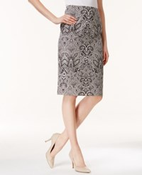 Charter Club Printed Side Zip A Line Skirt Only At Macy's