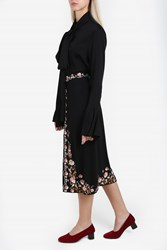 Vilshenko Women S Claire Embroidered Skirt Boutique1 Multi