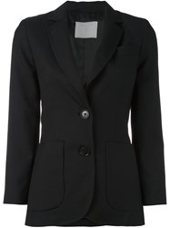 Societe Anonyme Two Button Jacket Black