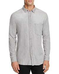 Rails Colton Gray Chambray Slim Fit Button Down Shirt Grey