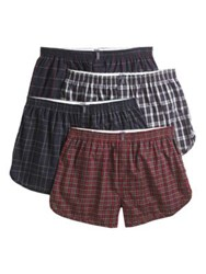 Jockey Four Pack Classic Tapered Boxers Multi