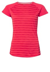 Berghaus Sports Shirt Hot Respberry Stripe Pink