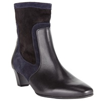 Peter Kaiser Osane Leather Ankle Boots Black