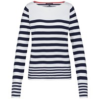 Tommy Hilfiger Ivy Stripe Boat Neck Sweater Multi Coloured Multi Coloured