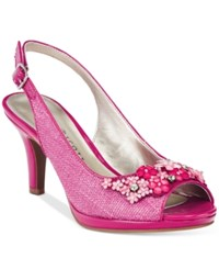 Karen Scott Branca Slingback Pumps Only At Macy's Women's Shoes Rasberry