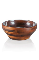 Picnic Time 'Legacy Heritage Collection By Fabio Viviani Carovana' Nested Bowls Brown Large