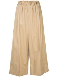 08Sircus Cropped Trousers Brown
