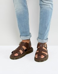 Dr. Martens Dr Galia Carpathian Sandals In Tan