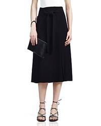 Whistles Eleve Wrap Midi Skirt