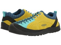 Keen Jasper Rocks Golden Mist Blue Turquoise Men's Shoes Yellow