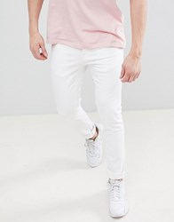 Voi Jeans Skinny Fit In White