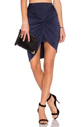 Lovers Friends Love Note Skirt Navy