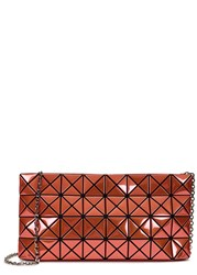Issey Miyake Platinum 1 Coral Cross Body Bag Light Pink
