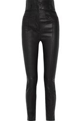 Haider Ackermann Leather Skinny Pants Black
