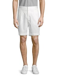 J. Lindeberg Classic Pleated Shorts Off White
