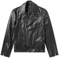 Undercover New Warriors Leather Jacket Black