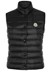 Moncler Laine Black Quilted Shell Gilet