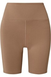 Year Of Ours Diana Stretch Shorts Tan
