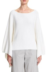 Lafayette 148 New York Women's Crop Silk And Cotton Kimono Sweater