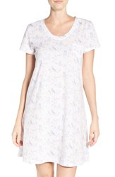 Carole Hochman Women's Print Cotton Sleep Shirt Snow Owls