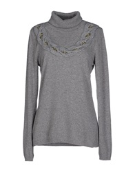 Blugirl Blumarine Turtlenecks Grey