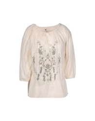 Local Apparel Blouses Ivory