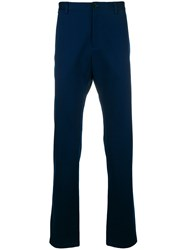 Versace Slim Fit Trousers Blue