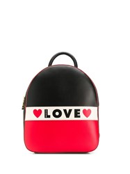 Love Moschino Logo Backpack 60