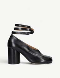 Maison Martin Margiela Tabi Split Toe Leather Pumps Black