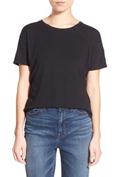 Women's Madewell Slub Crewneck Tee True Black