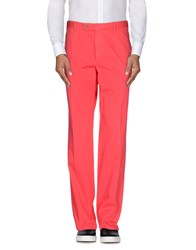 Faconnable Trousers Casual Trousers Men Coral