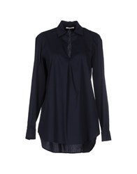 Noshua Shirts Blouses Women Dark Blue