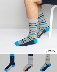 Original Penguin 3 Pack Sock Gift Set Multi