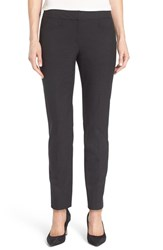 Halogenr Petite Women's Halogen 'Taylor' Ankle Skinny Pants Heather Charcoal