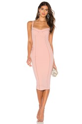 Nookie Chicago Midi Dress Blush