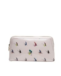 Ted Baker Lyman Fly Fishing Large Wash Bag Pastel Pink