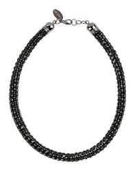 Twin Set Simona Barbieri Jewellery Necklaces Women Black