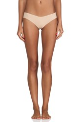 Commando Thong Beige