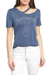 Project Social T Women's Laters Ripped Tee