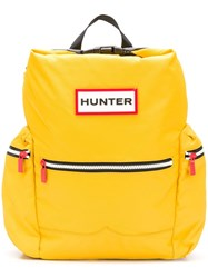 Hunter Water Resistant Backpack Yellow