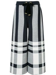 Mother Of Pearl Kory Plaid Culottes Blue
