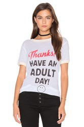 Wildfox Couture Adult Day Top White